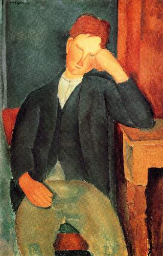 Modigliani - Peasant boy [2]